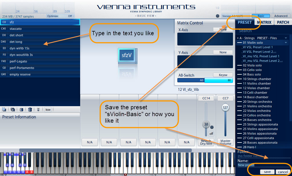 Orchestra Music with Samples, Tutorials and Presets for VSL